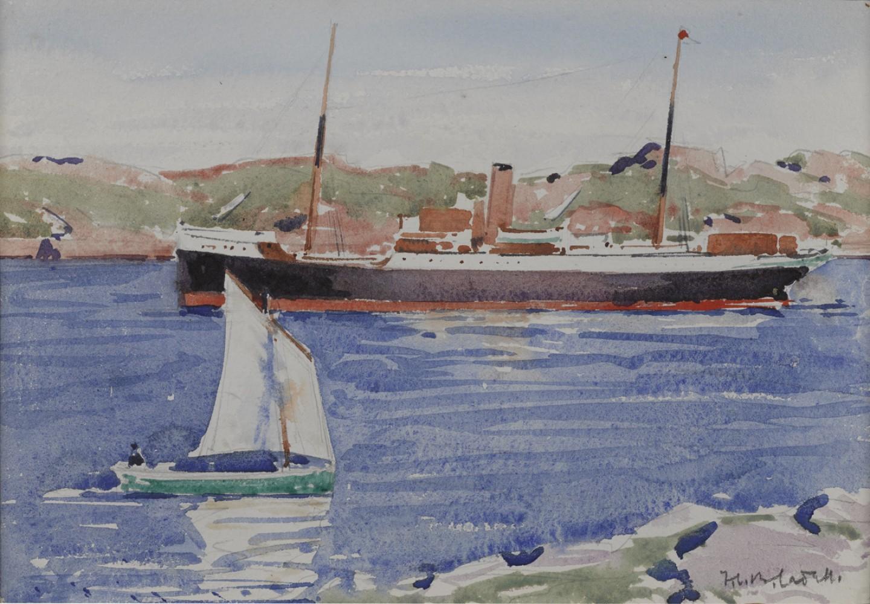 Steamer & Yacht, Iona