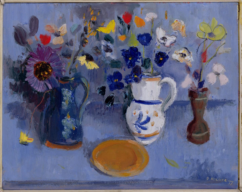 Blue Flowerpiece
