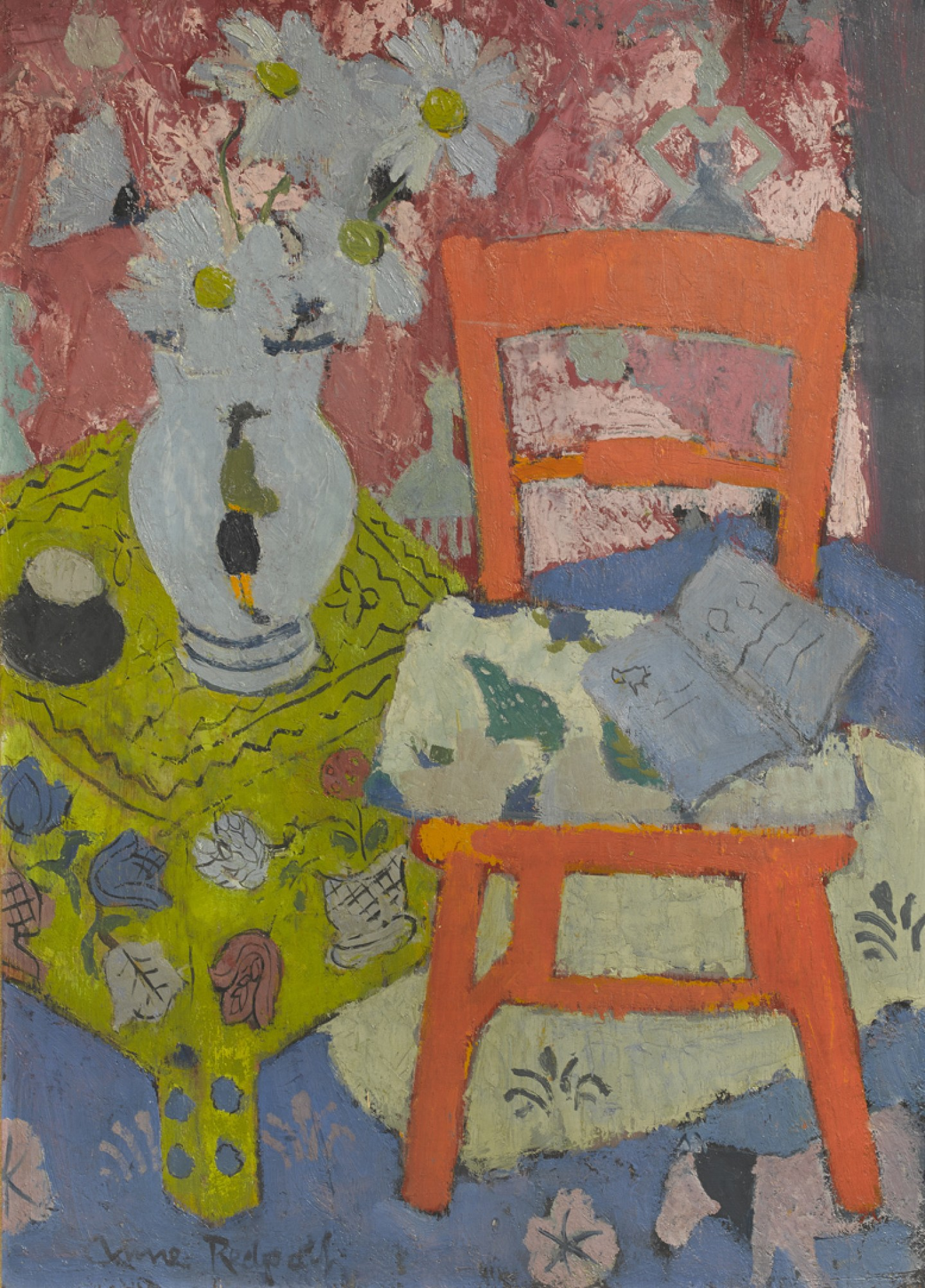 Still Life - The Orange Chair