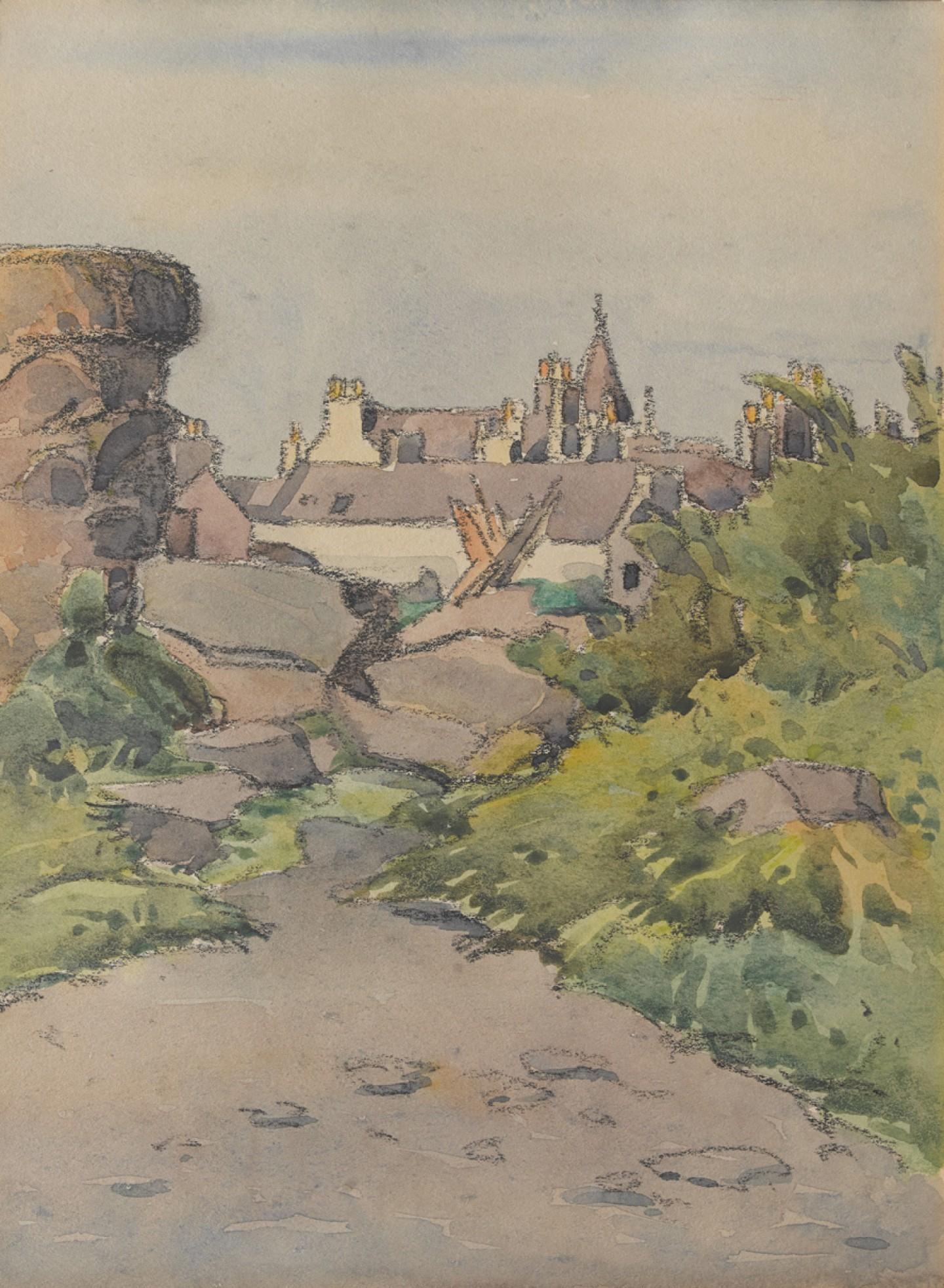 View of Kirkcudbright