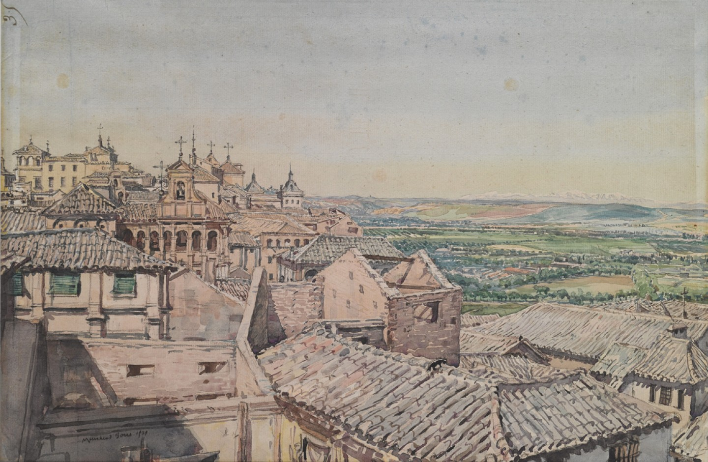 View from Toledo