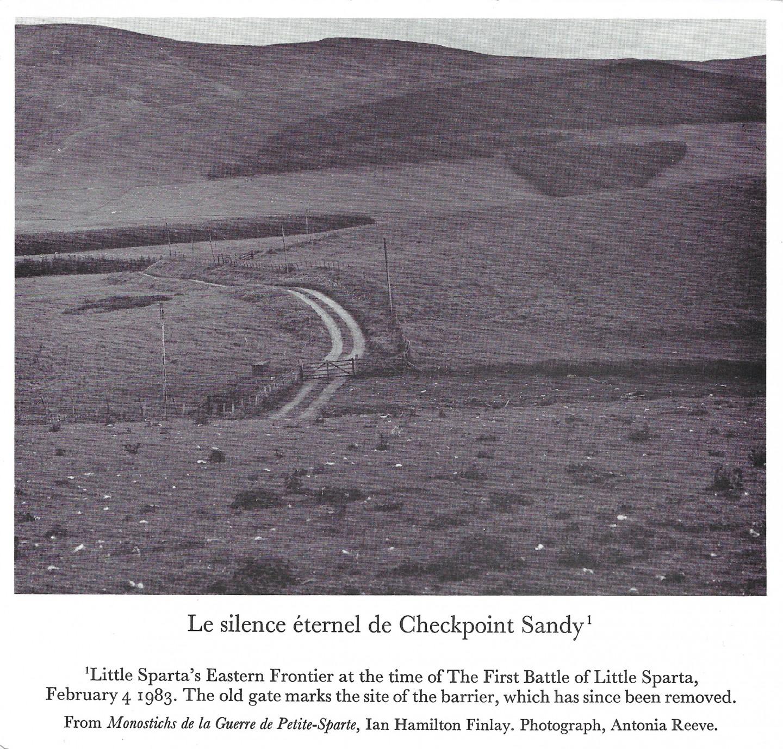 Le Silence Eternal de Checkpoint Sandy