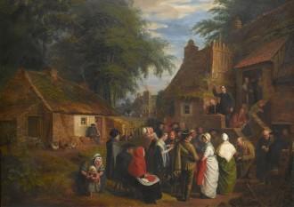 The Open Air Preacher, c. 1812