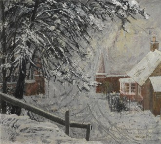 Cottages with Overhanging Boughs, 1979