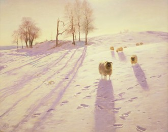 When Snow the Pasture Sheets, c. 1915