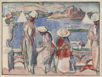 La Terrasse, Dinard, 1931