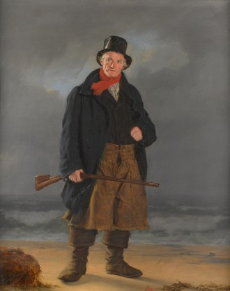 A Fisherman with a Gun, Unknown