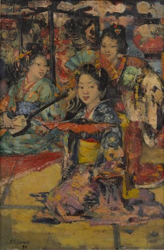 Geisha Girls, 1894