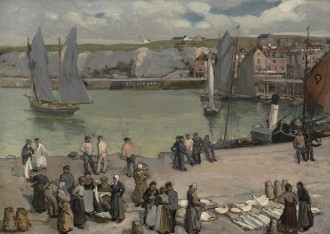 Dieppe Harbour, 1911