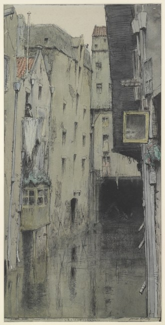 Grimnessesluis, Amsterdam, 08/1913