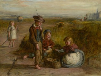 A Day's Fishing: Evening, 1866