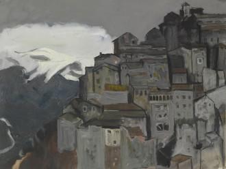 Anticoli Corrado with Mountain Snow, 1954
