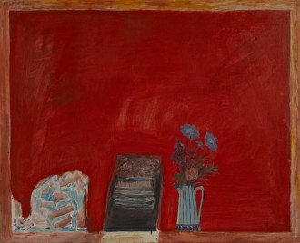 Flowers and Red Table, 1969