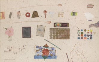 Still Life with Japanese Kite, 1980