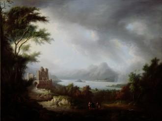 A Stormy Highland Scene, c. 1810