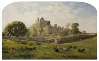 Craigmillar Castle, 1861