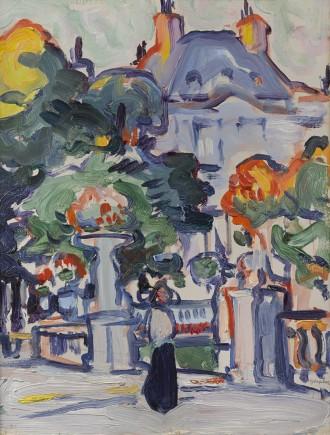 Luxembourg Gardens, c. 1910