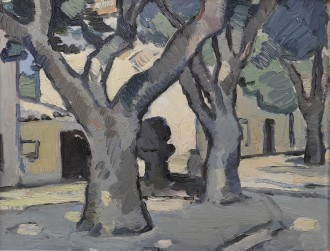 Trees at Cassis, c. 1925