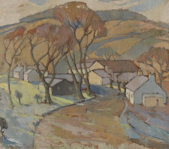 Frosty Morning, Trow Mill, 1936