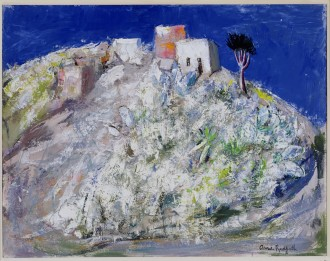 Houses on a Hill, c.1958