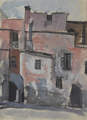 Old Buildings, Spain, 1950