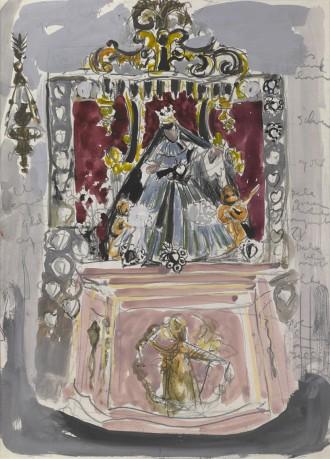 Altar in San Nicolo Dei Mendicoli II, 1964