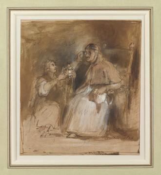 Benvenuto Cellini & Pope Paul III, 1824