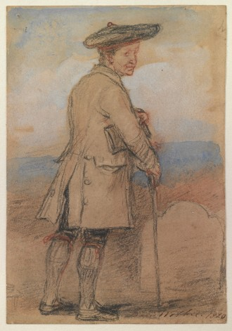 Study for 'Old Mortality', 1820