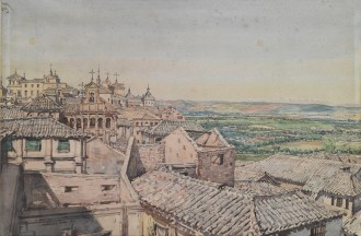 View from Toledo, 1924