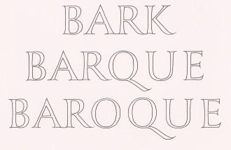 Bark Barque Baroque, with John R Nash, 1988