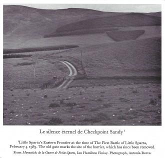 Le Silence Eternal de Checkpoint Sandy, 1986